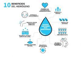 qué es el agua hidrogenada